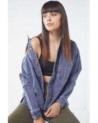 Urban Outfitters - Blue Uo Miner Shirt Jacket - Lyst