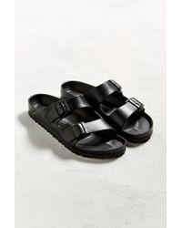 Birkenstock | Black Arizona Water-Resistant EVA Slides for Men | Lyst