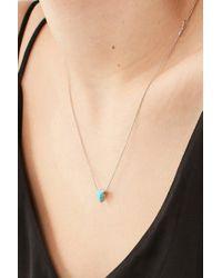 Urban Outfitters - Multicolor Cecilia Delicate Triangle Pendant Necklace - Lyst