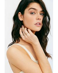 Urban Outfitters - Metallic Gilded Cities Ring Set - Lyst