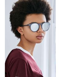 Urban Outfitters   Blue Every Day Round Sunglasses   Lyst