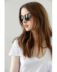 Urban Outfitters | Gray Every Day Round Sunglasses | Lyst