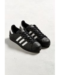 Adidas Originals - Black Originals Superstar Foundation Sneaker for Men - Lyst