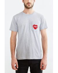 Urban Outfitters - Gray Mnkr Lover Pocket Tee for Men - Lyst
