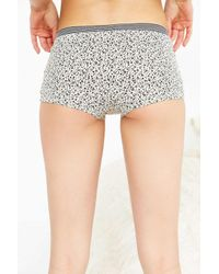 Out From Under - Gray Blake Boyshort - Lyst