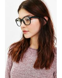 Urban Outfitters - Black Round Readers - Lyst