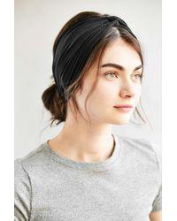 Urban Outfitters | Black Crisscross Bella Headwrap | Lyst