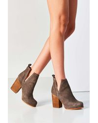 Jeffrey Campbell | Gray Oshea Ankle Boot | Lyst