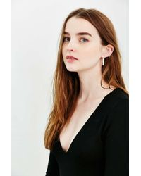 Urban Outfitters - Metallic Front/back Matchstick Post Earring - Lyst