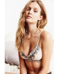 Pins And Needles | Natural Special Edition Cory Bralette | Lyst