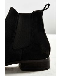 Shoe The Bear - Black Suede Chelsea Boot for Men - Lyst