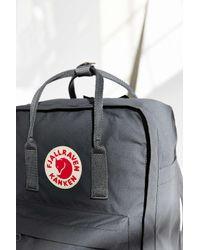 Fjallraven - Gray Kanken Backpack - Lyst