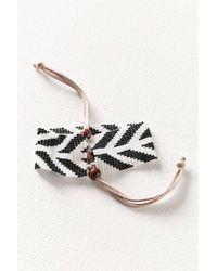 Urban Outfitters - Black Cora Beaded Bracelet - Lyst