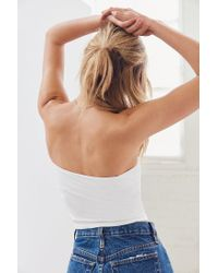 Silence + Noise - White Tal Tube Top - Lyst