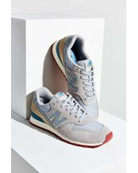 New Balance | Gray 696 Capsule Running Sneaker | Lyst