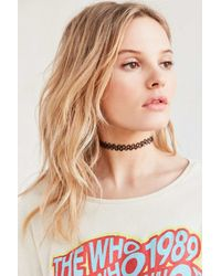 Urban Outfitters | Black Tattoo Choker Necklace | Lyst