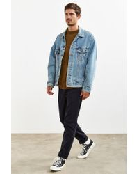 Urban Outfitters | Black Uo Easton Nepped Skinny Chino Pant for Men | Lyst