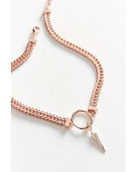 Luv Aj - Multicolor Hanging Spike Choker Necklace - Lyst