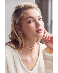 Luv Aj | Multicolor Hanging Spike Choker Necklace | Lyst