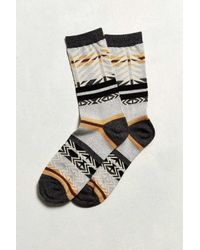 Urban Outfitters | Gray Southwest Blanket Print Sock for Men | Lyst