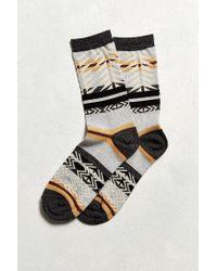 Urban Outfitters | Gray Southwest Blanket Print Sock for Men | Lyst