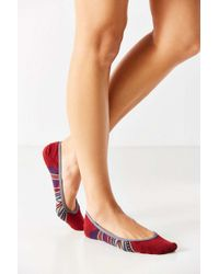 Pendleton - Red Rio Canyon Liner Sock - Lyst