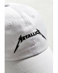 Urban Outfitters - White Metallica Dad Hat for Men - Lyst