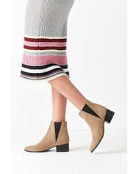 Urban Outfitters - Brown Pola Suede Chelsea Boot - Lyst