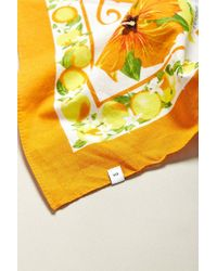 Urban Outfitters - Orange Uo Florida Destination Bandana - Lyst