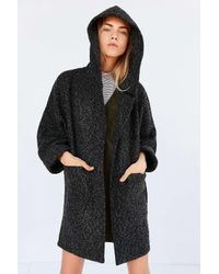 BDG | Multicolor Alessi Boucle Relaxed Hooded Coat | Lyst