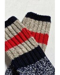 Woolrich - Multicolor Rugby Stripe Sock for Men - Lyst