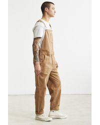 BDG - Brown Dense Cotton Canvas Overall for Men - Lyst