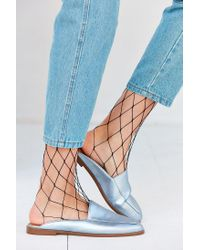 Urban Outfitters | Blue Carrie Loafer Mule | Lyst