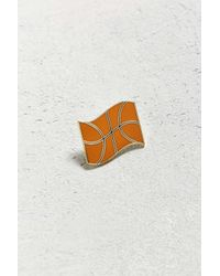 Valley Cruise Press | Orange X Eivind Molvaer Basketball Flag Pin | Lyst