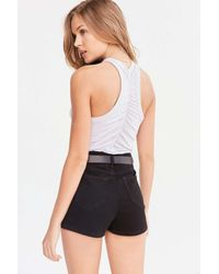 Truly Madly Deeply   Gray Ruched-back Tank Top   Lyst