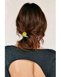 Urban Outfitters | Yellow Enamel Pin Ponytail Holder Set | Lyst