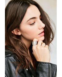 Urban Outfitters | Metallic Ophelia Butterfly Ring | Lyst