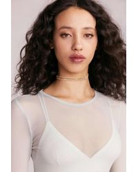 Urban Outfitters | Multicolor Laura Rhinestone Choker Necklace | Lyst