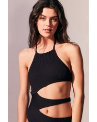 Out From Under - Black Sophie Cutout One-piece Swimsuit - Lyst