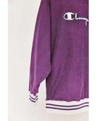 Urban Renewal | Multicolor Vintage Champion Purple Sweatshirt | Lyst