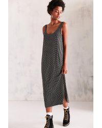Cooperative   Black Daphne Scoop-back Midi Slip Dress   Lyst