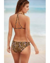 Out From Under - Multicolor Printed Cutout Bikini Bottom - Lyst