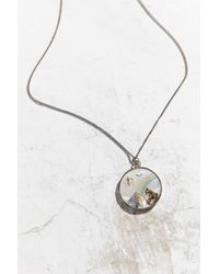 Urban Outfitters | Multicolor Vintage Mother Of Pearl Charm Necklace | Lyst