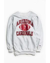 Urban Outfitters | Gray Vintage Champion Cardinals Crew Neck Sweatshirt for Men | Lyst