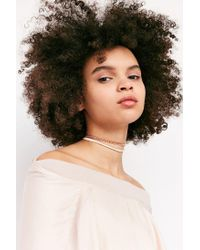 Urban Outfitters | Multicolor Lex Chain Tie Choker Necklace | Lyst