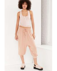 Kimchi Blue | Pink Aly Drop Crotch Pant | Lyst