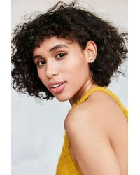 Urban Outfitters | Metallic Icon Post + Hoop Earring Set | Lyst