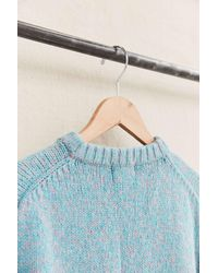 Urban Renewal - Vintage Pink/blue Yarn Dyed Sweater - Lyst