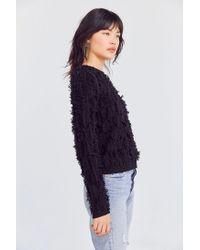 Kimchi Blue - Black Fringe Pullover Sweater - Lyst