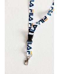 Fila - White Lanyard - Lyst